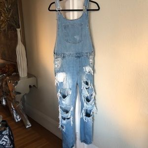 Long Jean Overalls